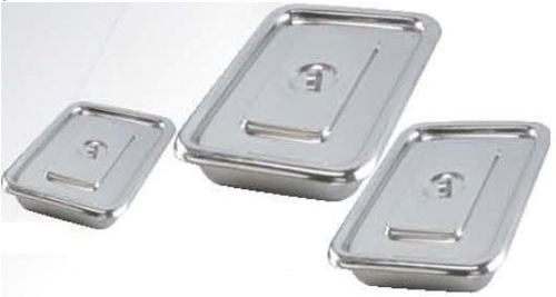 INSTRUMENT TRAY WITH LID SS [CLASSIC]